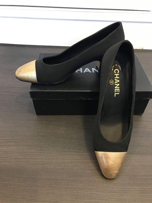 Chanel 38.5 正品高跟鞋