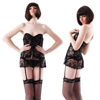 (A160)(現貨)秘密派對露肩胸衣&短褲Secret Party Bustier & Shorts 日本正貨