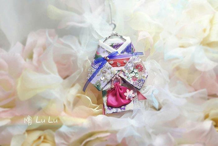 和服 吊飾 飾品 婚紗 禮服 文創設計 手作 獨一無二 免運編號180721009