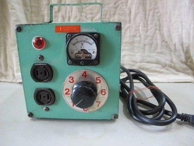 二手舖 NO.666 變電器 可改變電燈亮度 變換電源器.轉換器 變電器車用變家用 電源轉換器 變電器車用變家用