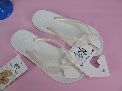【iSport愛運動】MALVADOS 夾腳人字 涼拖鞋  10011207 女款 金屬色 PLAYA- CORE