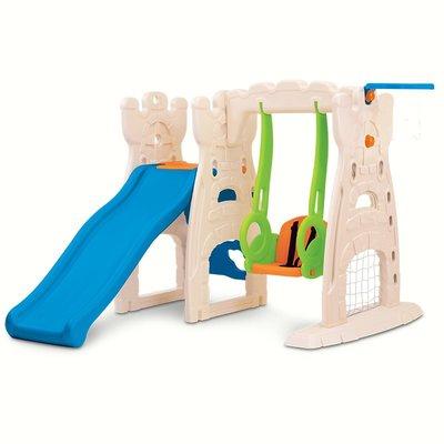 滑滑梯美國Grow'n up高思維兒童室內家用寶寶小型滑滑梯秋千組合玩具好好先生