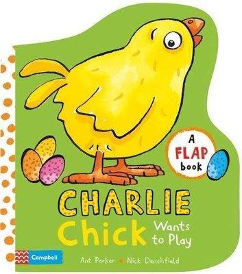 *小貝比的家*CHARLIE CHICK WANTS TO PLAY/硬頁/3~6歲/翻翻書