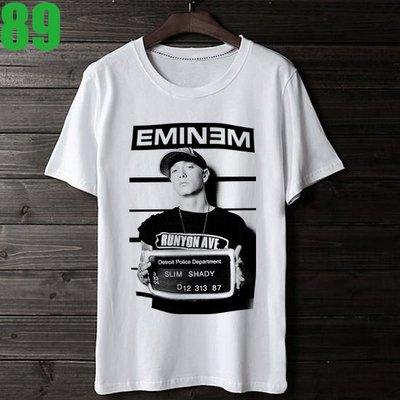 Eminem【阿姆】短袖嘻哈饒舌(HIP-HOP RAP)歌手T恤(共2種顏色可供選購) 購買多件多優惠!【賣場十七】