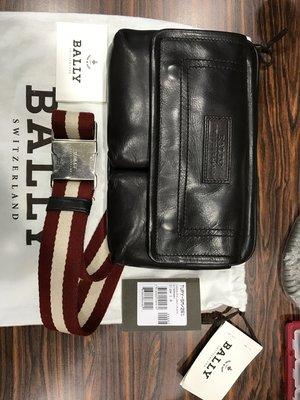 Bally純牛皮斜背包 (含防塵袋,品控卡及原廠標籤)