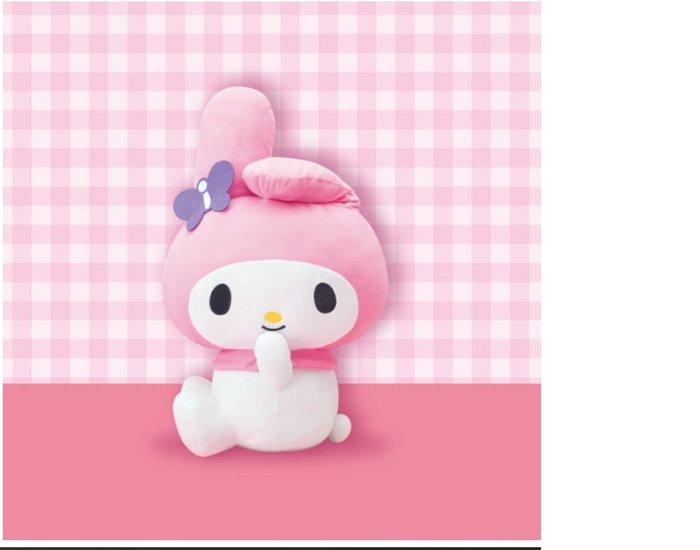 4165本通 日本景品 絨毛娃娃 BIG 美樂蒂 AMU-PRZ9860 下標前請詢問