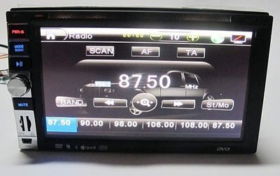 光光 6.95吋多功能汽車音響主機 2DIN MP5/MP3 7吋 觸控螢幕 MP3/MP5/收音FM