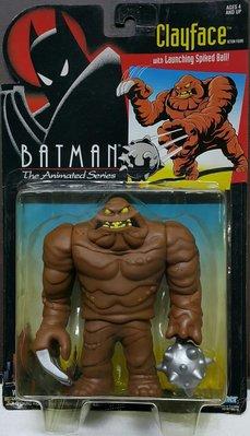 全新 KENNER BATMAN 蝙蝠俠 CLAYFACE 泥面人 動畫系列