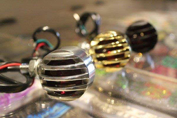 (I LOVE樂多)柵欄方向燈(鋁拋銀款式)3種款式可選擇 通用各車款 (Old School ,H-D,SR400,KTR,愛將,BWS
