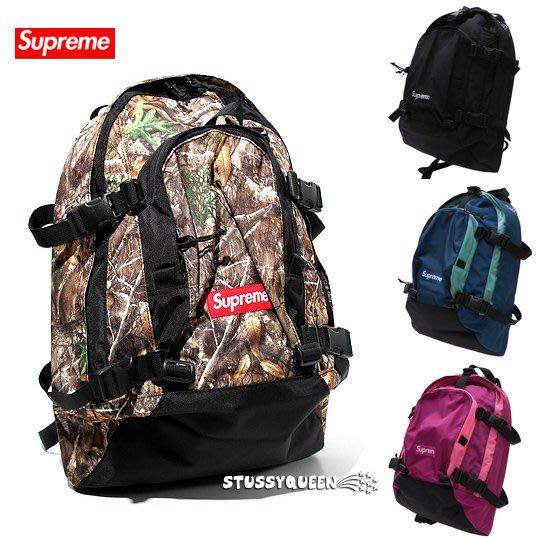 【超搶手】全新正品2019 FW 秋冬Supreme backpack 47代 47TH  BOX LOGO後背包 樹紋