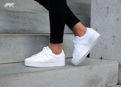 adidas original rize 厚底休閒帆布鞋 經典復古 增高 金標 courtvantage 23.5cm