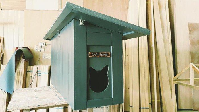 戶外貓屋,老麥狗貓屋設計製作提供190823