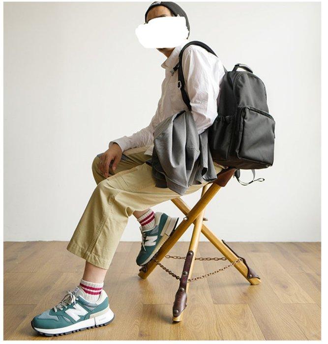 ~皮皮創~原創設計手作考度拉後背包包。CORDURA彈道尼龍高品質輕量騎行死飛包英倫風復古潮款雙肩背包旅行包 黑色機能包