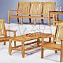 高雄永成      拉敏組椅/  木製沙發/ 木頭組椅...