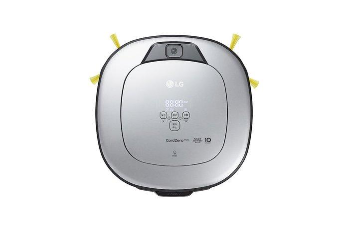【棋杰電器】LG VR6698TWAR (鏡面銀) CordZero™ WiFi濕拖清潔機器人-三眼 【☎ 來電享優惠】