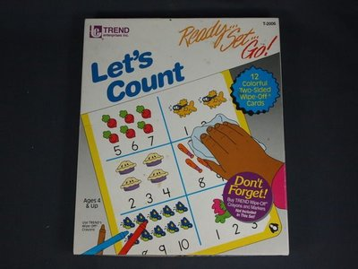 【懶得出門二手書】《Let s Count Ready Set Go!》