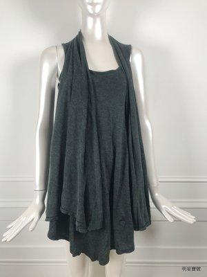 [我是寶琪] 林牧潔二手商品 PAMPER HEIRESS 兩種穿法灰色上衣