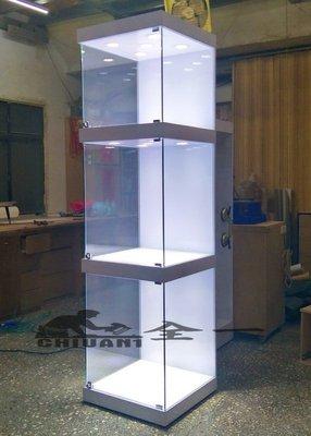 GK公仔櫃 全一 玻璃展示櫃 三層公仔櫃.GK玻璃展示櫃.布袋戲展示櫃.樂高櫃.鋼彈玻璃櫃.GK模型櫃.大型模型櫃