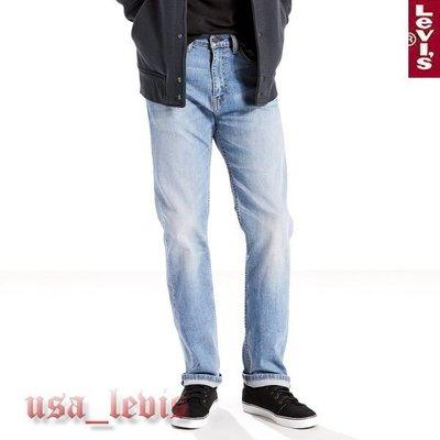 【彈性新款29-42腰優惠】美國LEVI S 505 WEYMOUTH 輕磅水洗大範圍刷白中直筒牛仔褲 丹寧褲501