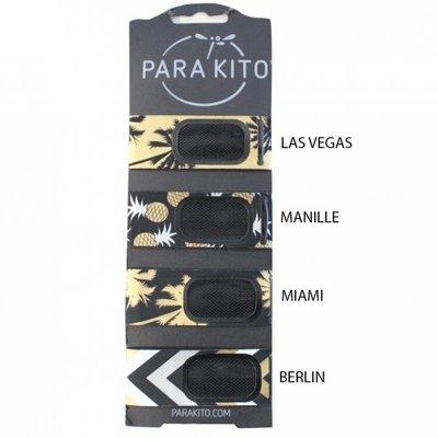 法國Parakito Party Anti Mosquito Repellent Bracelet 大人天然精油防蚊手環