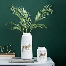 〖洋碼頭〗北歐風格家居客廳創意陶瓷花瓶擺件裝飾品房間電視櫃簡約現代擺設 fjs886