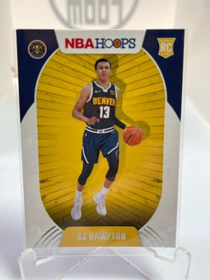 2021 ROOKIE CARD Panini RJ Hampton NBA Hoops Nuggets Magic Basketball RC