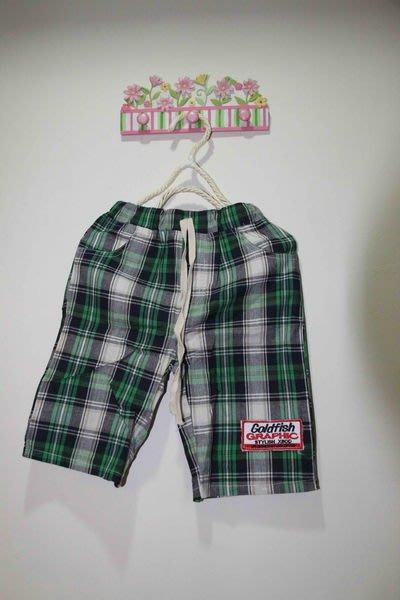 綠色格子褲