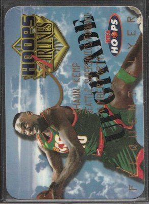97-98 HOOPS FREQUENT FLYER UPGRADE #17 SHAWN KEMP