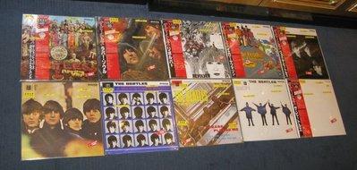 Beatles Japanese mono red Promo 10 LP NOS 極稀有全新日本紅膠版