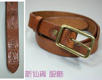 新掀貨牛仔服飾-W181-Wid Gattle真皮皮帶(100%義大利純牛皮)
