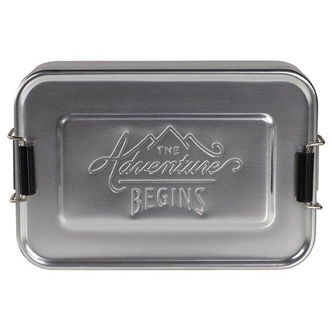 *Dou Dou House*英國Gentlemen's Hardware紳士探險系列-鋁製便當盒(小)(現貨)