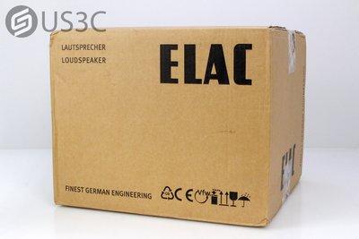 【US3C】【全新未拆】仩益公司貨 ELAC 310 CE 書架型揚聲器 音響 中置喇叭 鋁金屬底座 水晶振膜喇叭
