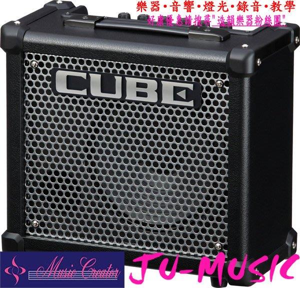 造韻樂器音響- JU-MUSIC - 最新 Roland Cube 10 GX 小音箱 歡迎詢問