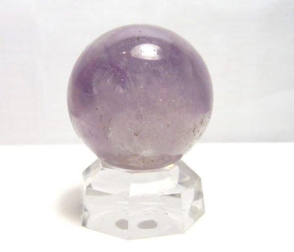 小風鈴~天然高檔巴西38mm紫水晶球~ 重:80g 出清價!