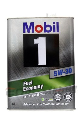 【易油網】【缺貨】 Mobil 1 5W30 5W-30 日本原裝 全合成機油 4公升鐵罐 Shell