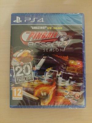 PS4 Pinball Arcade Season 2