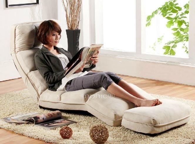 INPHIC-加長懶人沙發睡午椅 可折疊懶人沙發床 懶人用品 9色布