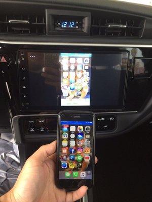 LUXGEN M7 U6 U7 S5 MPV Android/ iPhone 手機畫面無線上傳DVD螢幕