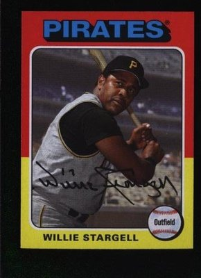 2019 Topps Archives #166 Willie Stargell - Pittsburgh Pirates