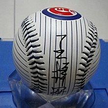 棒球天地--賣場唯一---中信兄弟 王梓安 簽名小熊紀念球.字跡漂亮