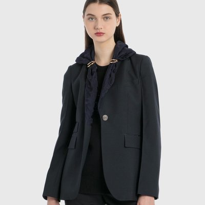 Loewe - Jacquard Shawl Jacket 女緹花披肩領西裝外套 超低折扣代購中