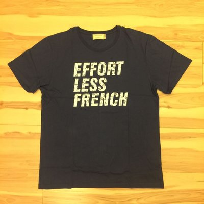 【MARU】100%真品 Maison Kitsune EFFORT LESS FRENCH 短T
