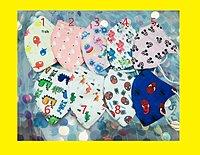 「彩圖兒童立口罩」3-12歲 3d