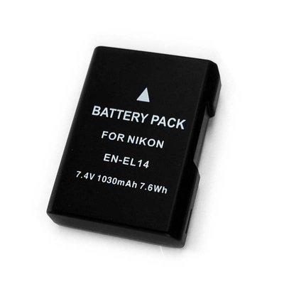 【EC數位】破解版 Nikon D5500 EN-EL14 ENEL14 EN-EL14a 防爆高容量鋰電池