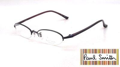 【本閣】Paul Smith PS9144 日本手工眼鏡超輕純鈦小框 男女半框光學眼鏡 999.9 tony same