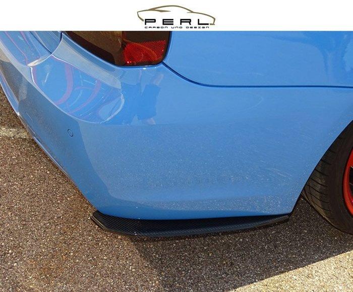 【樂駒】Perl Carbon Design BMW F30 F31 330 碳纖維 後保桿 輕量化 飾板 加裝