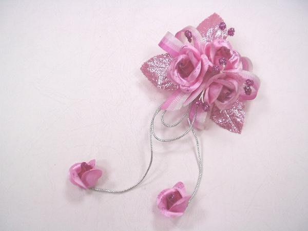 B. & W. world *美美的花飾*R13610****粉桃色、五色玫瑰花***復古風情系列**顏色可以自選