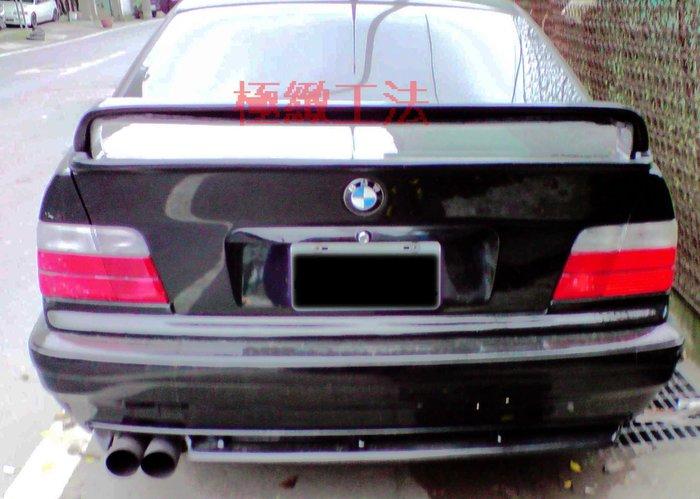 BMW E36 DTM 兩件式加高雙層尾翼