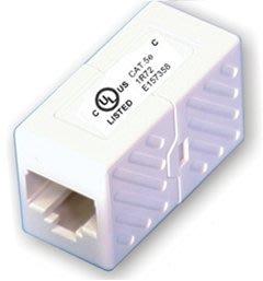 [CT Links] Cat.5e 網路接頭 中間接頭 (Inline Coupler) 白色 通過UL認證