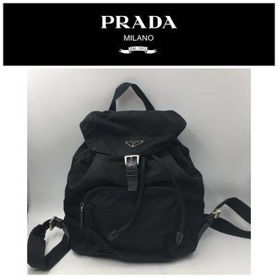 【皮老闆二店】二手真品 Prada 手提包 後背包 小髒污 H1